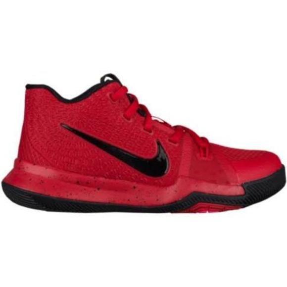 173835cc924d5 Nike Men's Kyrie 3 Basketball Shoes - Red/Black. M_5b42e422aaa5b8348189f551